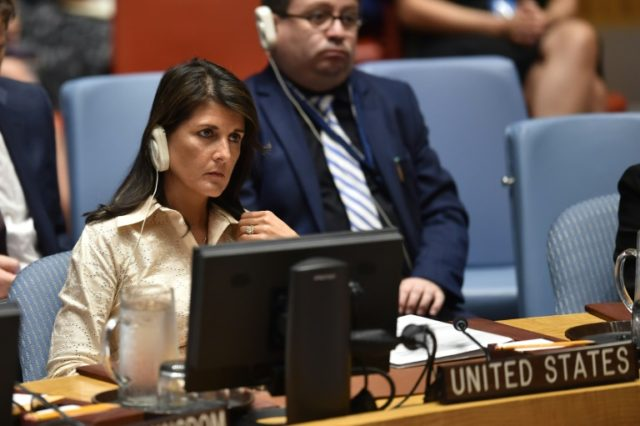 US Ambassador to the United Nations Nikki Haley wants a UN draft resolution to condemn Hamas, instead of Israel, for Palestinian deaths