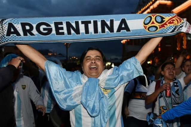 Argentina face Iceland in Moscow in their first match of the World Cup
