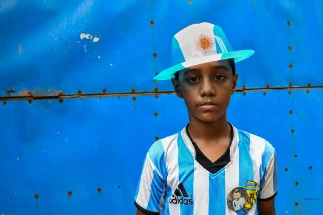 Mohammad Rakib is one of Bangladesh's ardent Argentina fans.