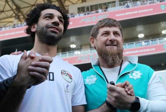 Salah makes World Cup headlines for Chechnya photo