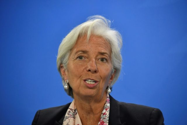 Christine Lagarde, pictured on June 11, 2018, and other IMF officials have stressed that their role with Argentina is a supporting one