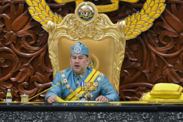 Sultan Muhammad V offered to reduce his salary after being touched by members of the public contributing out of their own pockets to a fund to cut the country's massive debt