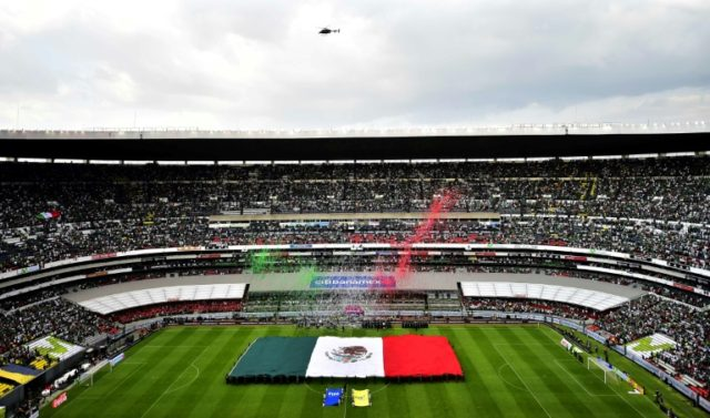 The Azteca Stadium in Mexico City is at the heart of the North American bid