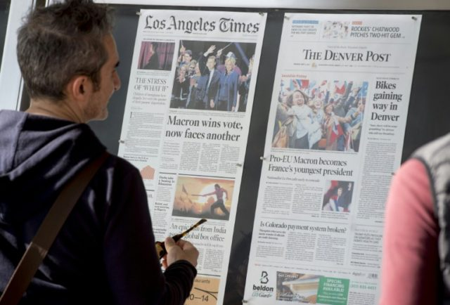 It was another grim year for US newspapers, with declines in revenues and readership for the overall sector despite growth for a small number of big dailies, according to a recent survey