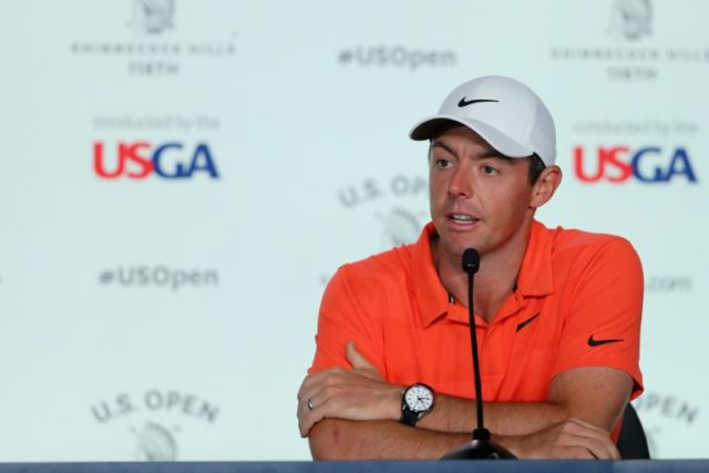 Rory McIlroy of Northern Ireland said the current crop of US golf stars have been inspired by Tiger Woods