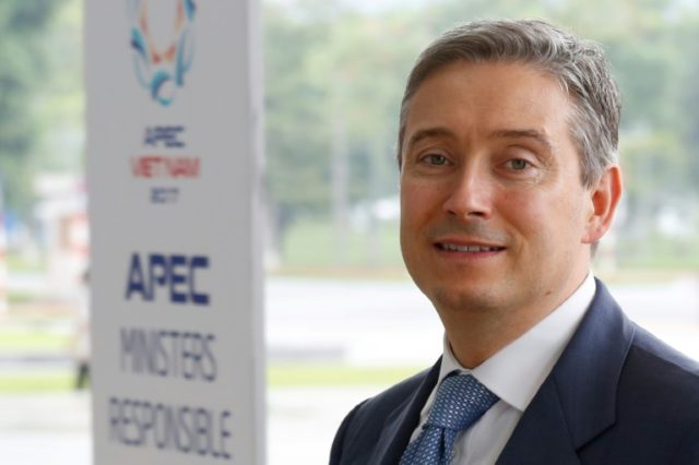 Canada's International Trade Minister Francois-Philippe Champagne is still hopeful about NAFTA but knows exports must be diversified