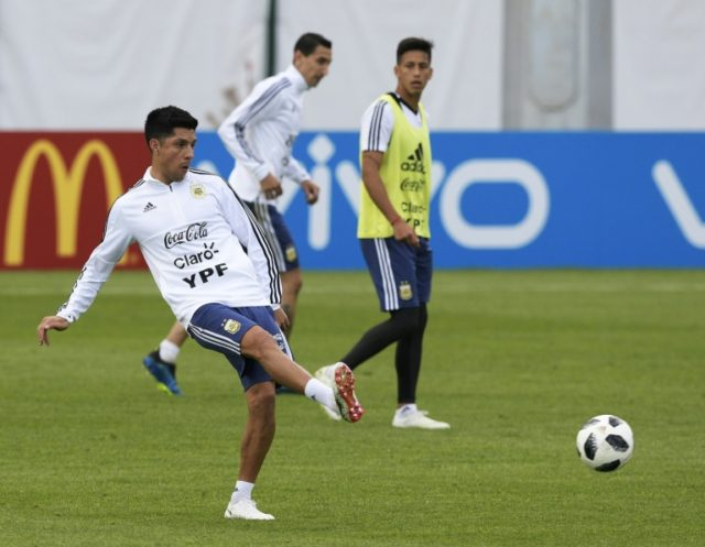 Enzo Perez started the 2014 World Cup final for Argentina