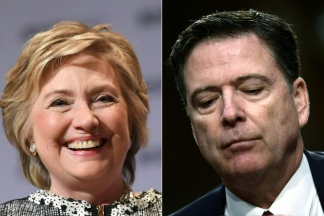 The long-awaited report reviewed James Comey's handling of the Hillary Clinton email probe, one of the most controversial chapters of the 2016 election battle
