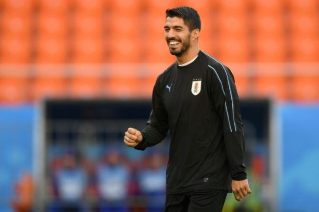 Uruguay forward Luis Suarez chasing World Cup redemption