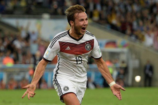 """Germany's """"eternal talent"""" Mario Goetze"""