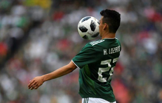 Mexico's Hirving Lozano has been compared to Uruguay's Luis Suarez