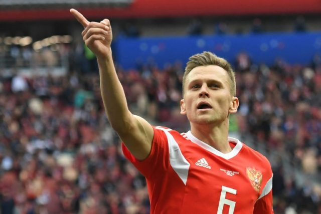 Russia thrash Saudi Arabia to launch World Cup in style