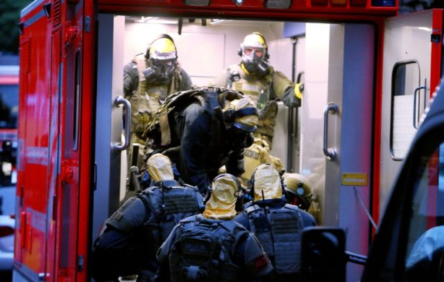 """Sief Allah H. was detained after police stormed his flat in Cologne, where they found unknown """"toxic substances"""" that turned out to be ricin"""