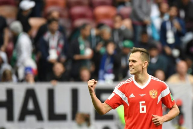 Denis Cheryshev scored twice as Russia beat Saudi Arabia 5-0 in the opening match of the 2018 World Cup