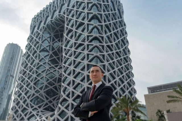 Melco's chairman Lawrence Ho told AFP he had 'wanted to find the most iconic architect that can do something just insane' before the project started in 2013