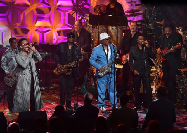 Kool & The Gang perform onstage during the Songwriters Hall of Fame 49th Annual Induction and Awards Dinner in New York