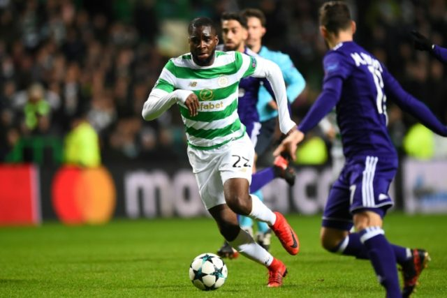 Celtic's French striker Odsonne Edouard has signed a four-year deal after a successful period on loan last season from PSG