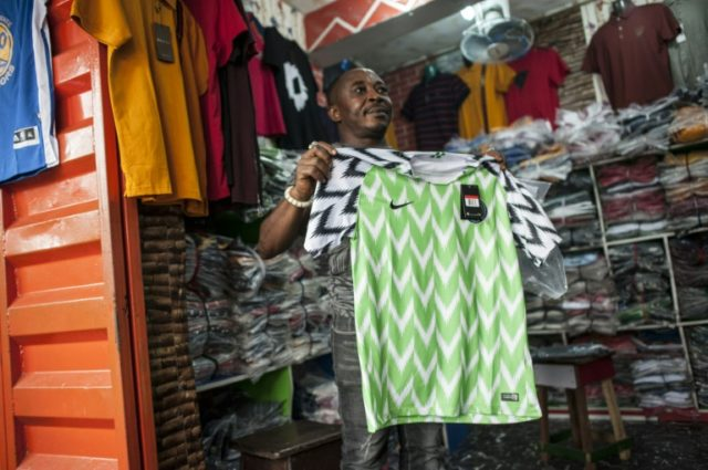 Fake Nigeria World Cup jerseys fly off the shelves