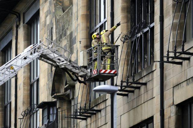 Blaze rips through one of world's best art schools in Glasgow