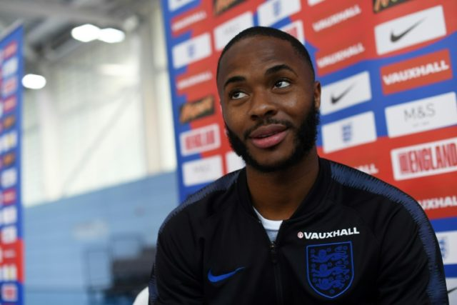 England's Raheem Sterling found himself at the centre of a social media storm at Euro 2016