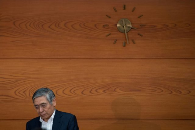Bank of Japan Haruhiko Kuroda Kuroda said a persistent 'deflation mind' was plaguing Japanese boardrooms and families, denting the chances hitting his goal of 2.0 percent inflation