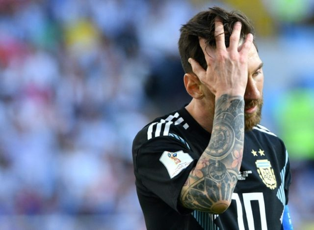 Lionel Messi threw away the chance to give Argentina an opening win