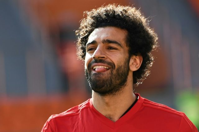 Egypt forward Mohamed Salah is targeting a World Cup return against Russia