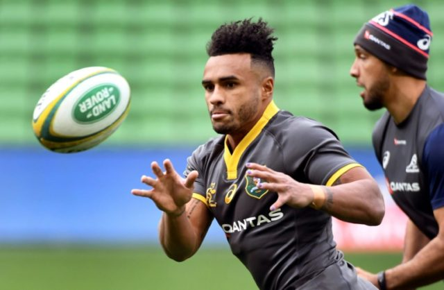 Will Genia broke his right arm during Ireland's series-levelling win over the Wallabies on Saturday
