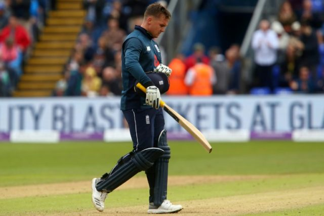 Jason Roy made a polished 120 as England beat world champions Australia by 38 runs to win the second one-day international in Cardiff
