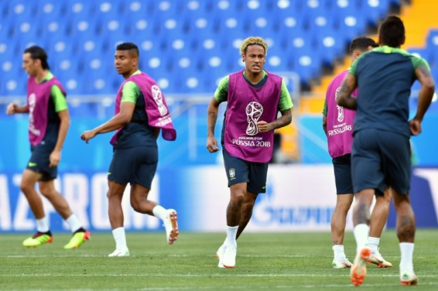 Brazil's Neymar is the focal point of one of the most menacing attacks at the World Cup