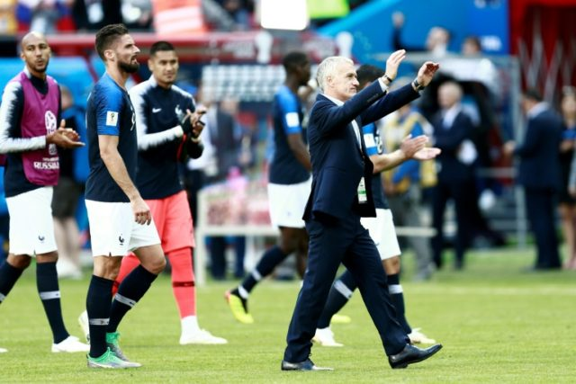 France coach Didier Deschamps relieved his young France team came through a tough opener against Australia with three points