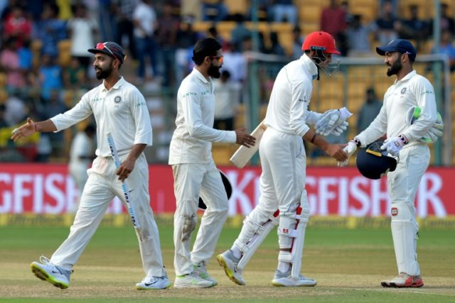 Afghanistan have insisted they do not want sympathy despite being thrashed by an innings and 262 runs inside two days by India in their first Test