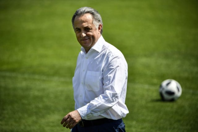 Russia's Deputy Prime Minister Vitaly Mutko sees the Egypt game as a must-win