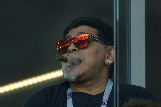 No cigar for Argentina coach Jorge Sampaoli from Diego Maradona