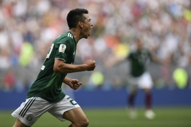 Hirving Lozano scored the goal that stunned Germany