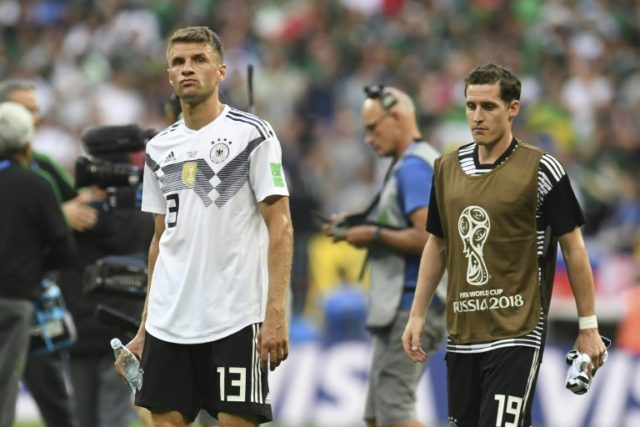 Germany face an uphill task at the World Cup after defeat by Mexico