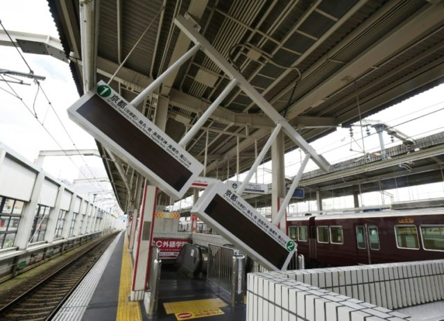 There were no immediate reports of major damage, but the Osaka quake stranded commuters and left thousands without power