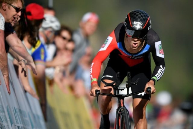 Australia's Richie Porte of Team BMC did enough in the individual time trial to hold on and win the Tour de Suisse on Sunday