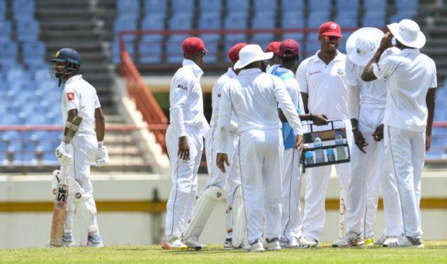 All over: Dinesh Chandimal walks off after being dismissed for 39