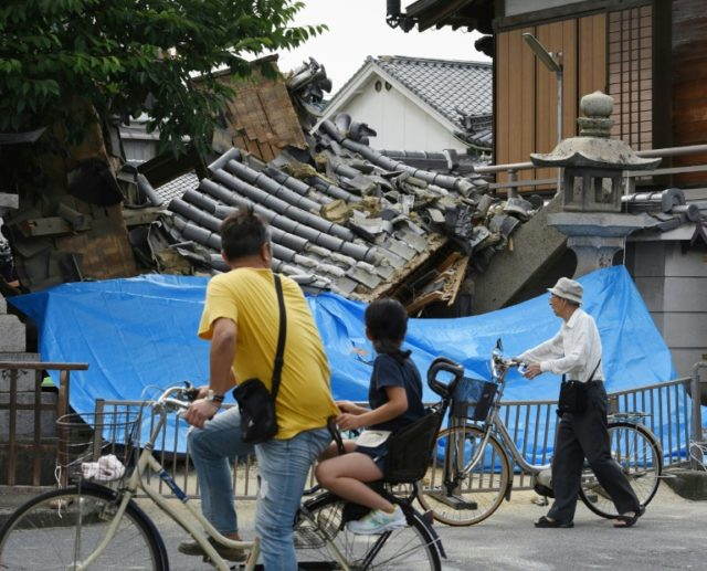Toll rises to four after quake in Japan's Osaka