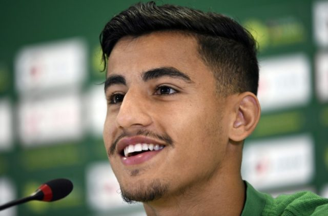 Australia forward Daniel Arzani attends a press conference in Kazan on June 18, 2018
