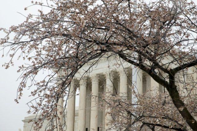 La Cour suprême à Washington, photographiée le 14 mars 2017
