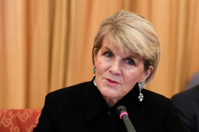 Australian Foreign Minister Julie Bishop said she wanted to ensure neighbouring countries had an alternative option to the often opaque financing from China