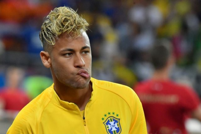 Neymar was underwhelming in Brazil's World Cup debut, but his blond locks got a lot of attention