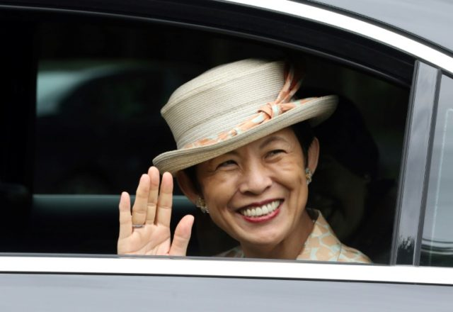 Princess Takamado of Japan, pictured here in Dublin, is a keen football supporter who has travelled to every World Cup to support Japan since 1998