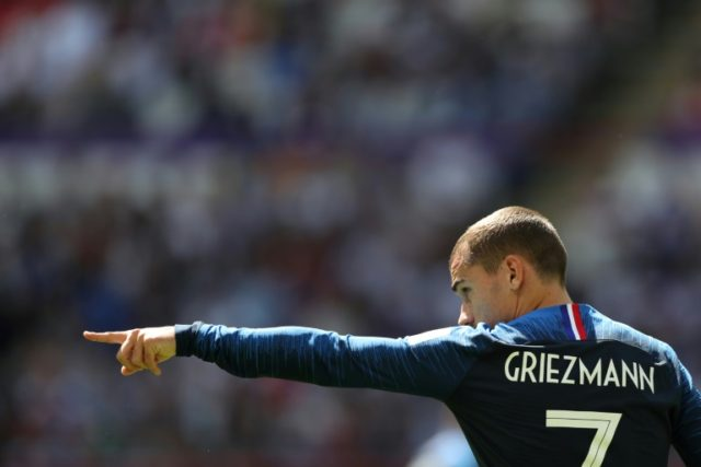 Antoine Griezmann is the leader of the French attack