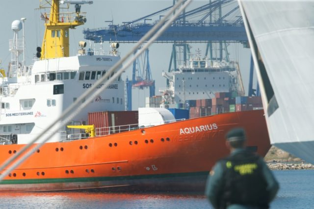 The Aquarius, carrying 630 rescued migrants, sparked a major migration row in Europe