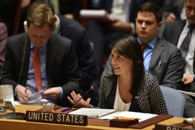 US ambassador to the United Nations, Nikki Haley, is expected to announce that the United States is withdrawing from the UN Human Rights Council