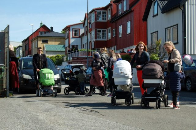 The Faroe Islands has had the highest birth rate in Europe for decades, with around 2.5 children per woman, according to World Bank figures