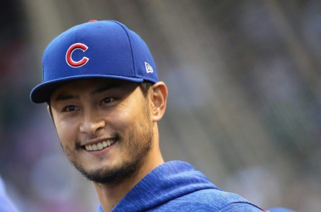 Chicago Cubs pitcher Yu Darvish, out four weeks with a right arm injury, threw three innings Wednesday in a simulated game situation and couldmake a rehabilitation start Monday